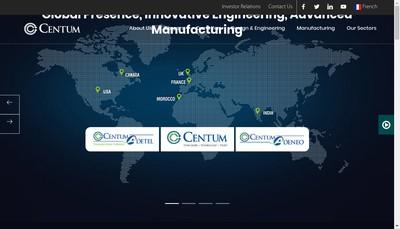 Site internet de Adeneo Crd Centre de Recherche et Developpement