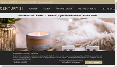 Site internet de Sakl Art Immobilier