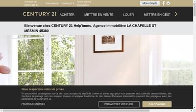 Site internet de Century 21 Help'Immo