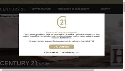 Site internet de Century21 Scp2I