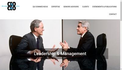 Site internet de Ceo2Ceo Consulting
