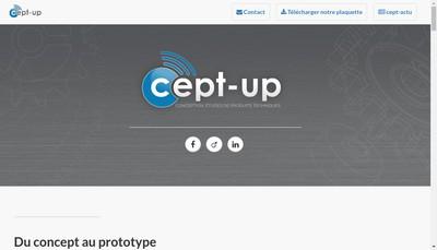 Site internet de Cept-Up