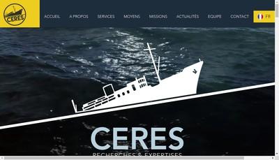 Site internet de Ceres