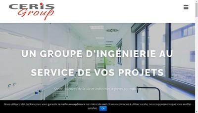 Site internet de Ceris Group