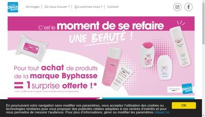 Site internet de C'Est Deux Euros