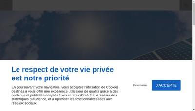 Site internet de Compagnie Francaise des Energies Nouvelles