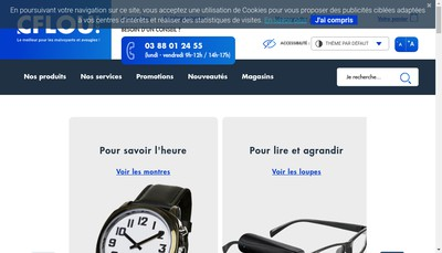 Site internet de Cflou