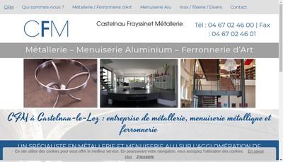 Site internet de Castelnau Frayssinet Metallerie