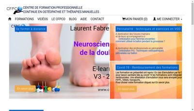 Site internet de Cfpco