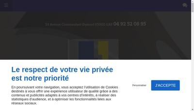 Site internet de SAS Noyose