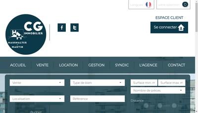 Site internet de Loge Immobilier