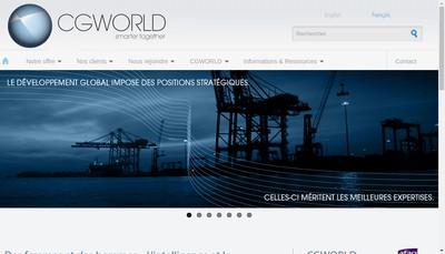 Site internet de Cgworld