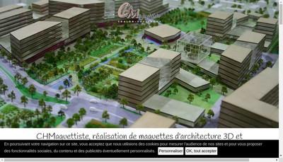 Site internet de Maquettes Veysset
