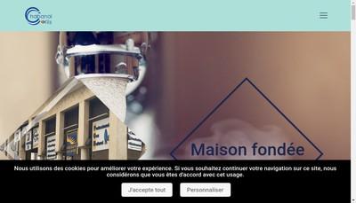 Site internet de Entreprise Chabanal et Fils