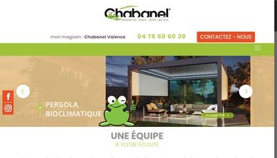 Site internet de Chabanel