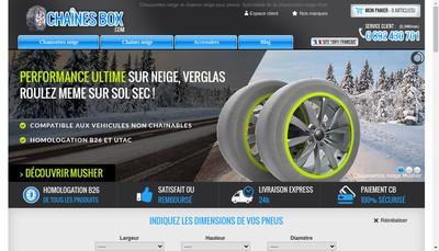 Site internet de Autobox