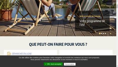 Site internet de Chalon Stationnement