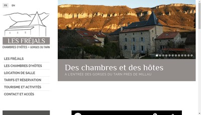 Site internet de Les Frejals
