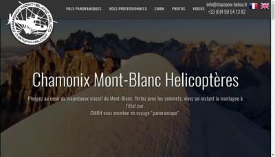 Site internet de Air Chamonix-Heli Air Chamonix-Heli Air