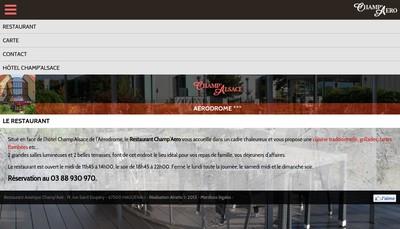 Site internet de Champ'Alsace SARL