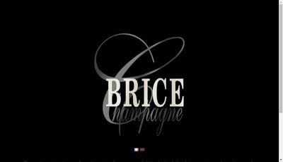 Site internet de Champagne Brice