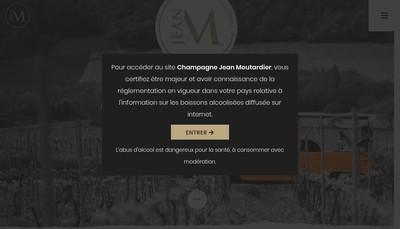 Site internet de Champagnes Jean Moutardier et Petits-Fils