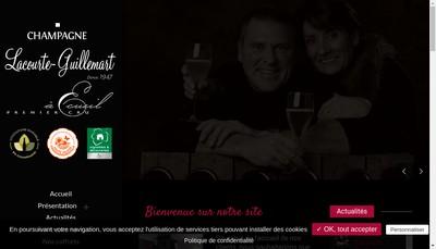 Site internet de EARL Lacourte-Guillemart
