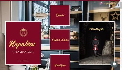 Site internet de Champagne Moulin Jean-Philippe