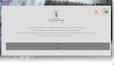 Site internet de SA Nomine Renard