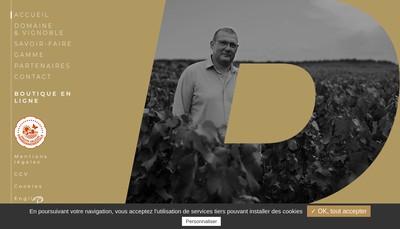 Site internet de Champagne Paques et Fils