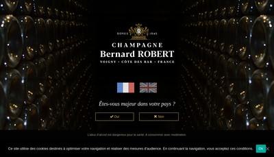 Site internet de SARL Robert Bernard et Fils