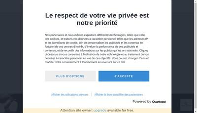 Site internet de Champagne Fm