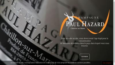 Site internet de P Hazard