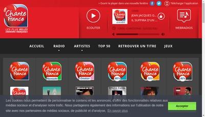 Site internet de Canal 9