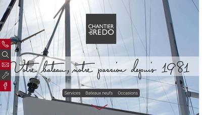Site internet de Chantier Naval du Redo