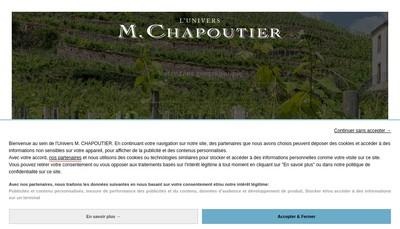 Site internet de M Chapoutier SA