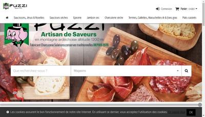 Site internet de La Table du Pagel