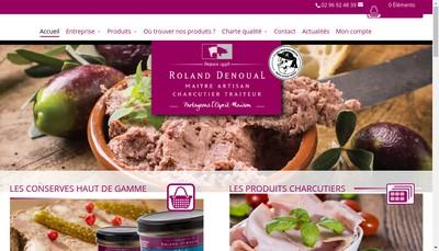Site internet de La Ferme de la Belle Noe