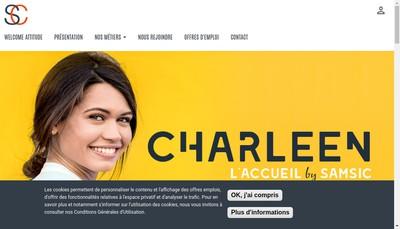 Site internet de Charleen