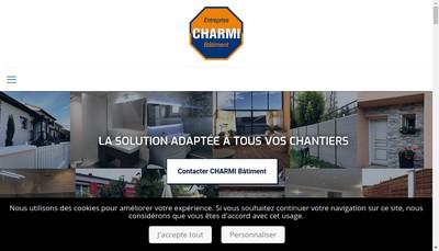 Site internet de Entreprise Charmi Batiment