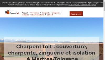 Site internet de Charpent'Toit