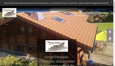 Site internet de Houssin