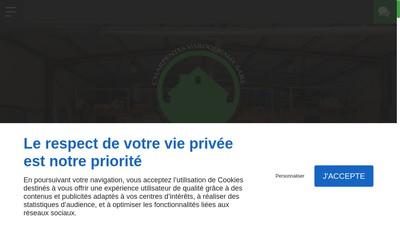 Site internet de Charpente Varoqueaux