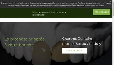 Site internet de Chartres Dentaire
