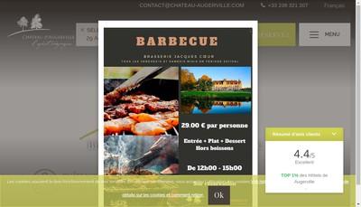 Site internet de Golf d'Augerville