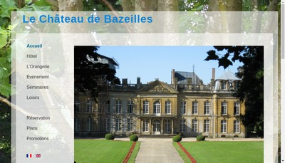 Site internet de Chateau de Bazeilles