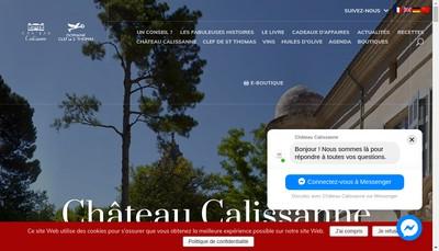 Site internet de La Jasso de Calissanne