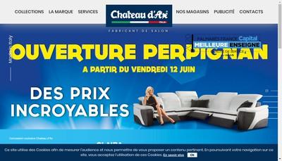 Site internet de Chateau d'Ax