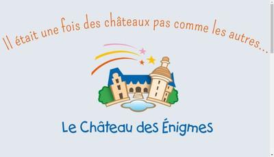 Site internet de Le Chateau des Enigmes