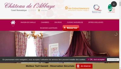 Site internet de Abbaye de Moreilles SAS